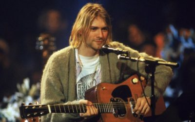 Kurt Cobain guitar breaks records at auction