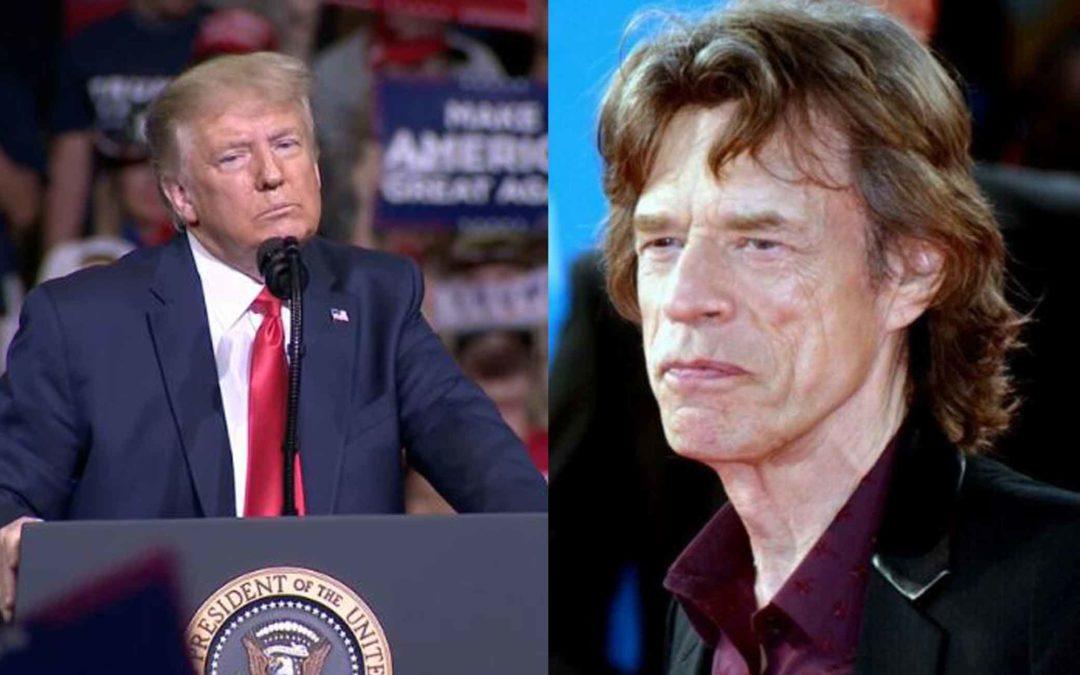Rolling Stones threaten Donald Trump with lawsuit