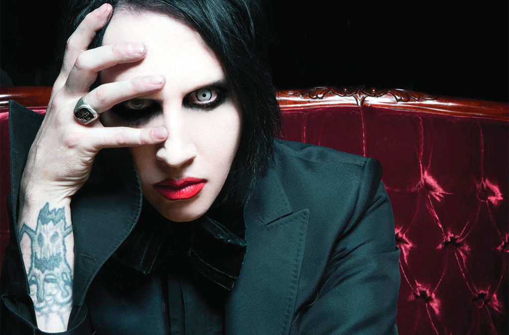 Marilyn Manson quit absinthe during broken leg recovery