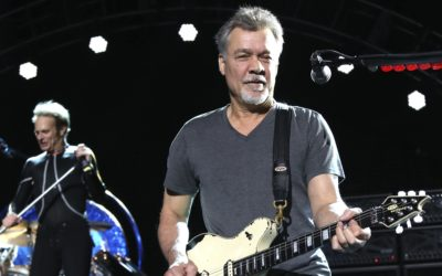 Guitar great Eddie Van Halen dead at 65