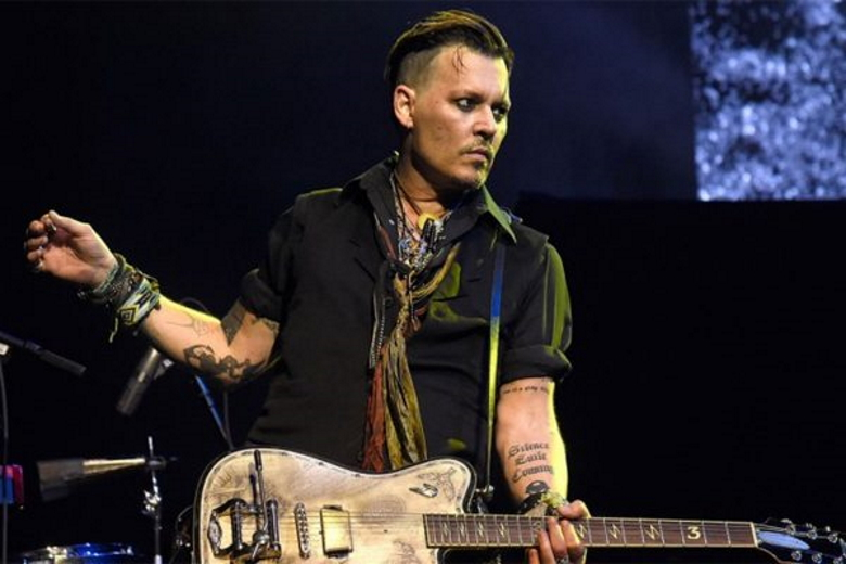 Johnny Depp working on new music with Jeff Beck